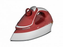 Philips iron 3d model