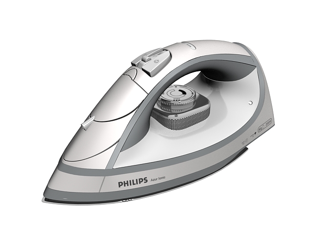 Philips Dry Iron 3d Model 3ds Max Files Free Download Modeling 24065 On Cadnav