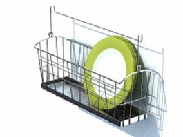 Dish racks and drainers 3d model