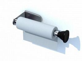 Plastic wrap holder 3d model