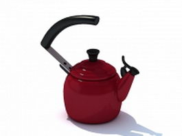Stovetop tea kettle 3d model