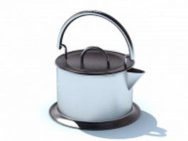 Kitchen kettle 3d model