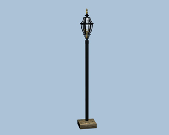 Victorian Street Light 3d Model 3ds Max Files Free