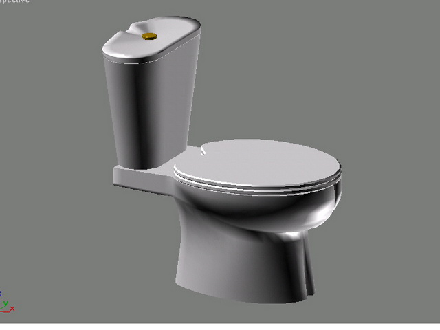 American Standard Toilet 3d Model 3ds Max Files Free