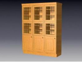Kitchen cupboards 3d model