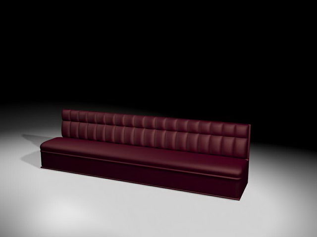 Extra Long Sofa 3d Model 3ds Max Files Free Download