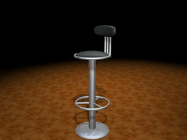 Floor mount bar stool 3d model 3ds max files free download  : 1 15031G64011 from www.cadnav.com size 640 x 480 jpeg 61kB