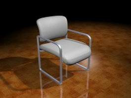 Conference room chairs 3d model