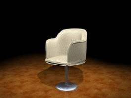 Swivel tub chair 3d model
