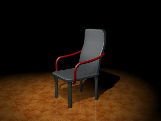 High Back Chair 3d Model 3ds Max Files Free Download