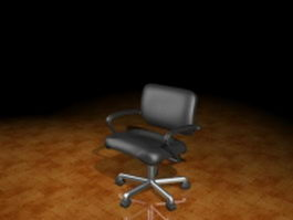 Task and operator chair 3d model