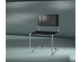 Cantilever dining chair 3d model
