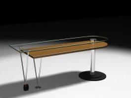 Home bar counter 3d model