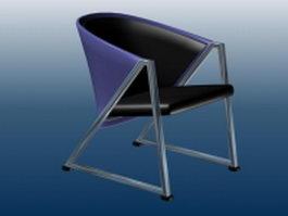 Patio pub chair 3d model