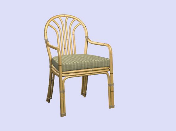 3DS Max Bamboo Chair - CADBlocksfree -CAD blocks free |Single Bamboo Texture 3ds Max