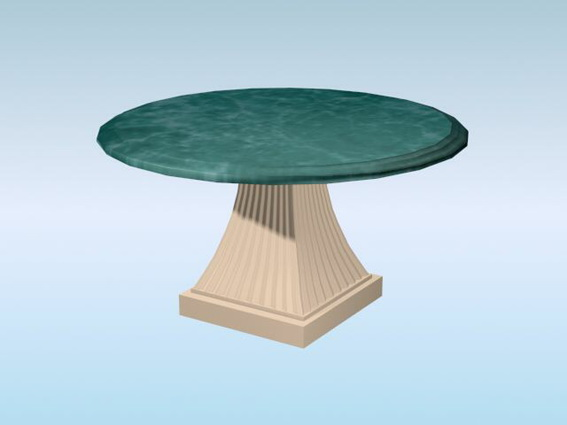 Round marble table 3d model 3D Studio3ds max files free  : 1 150331201056 from www.cadnav.com size 567 x 425 jpeg 37kB