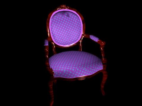 Remarkable Victorian Accent Chair 3D Model Cadnav Creativecarmelina Interior Chair Design Creativecarmelinacom