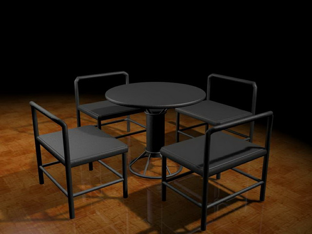 Outdoor bar furniture sets 3d model 3ds max files free for Outdoor furniture 3d max