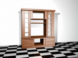Office wall cabinet 3d model