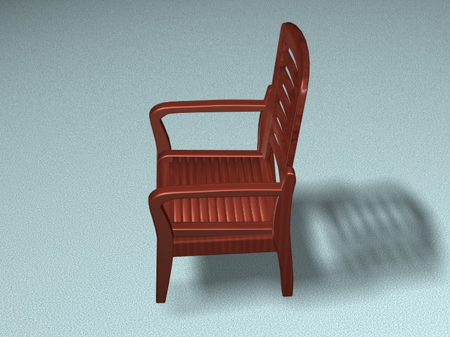 Fine Redwood Armchair 3D Model 3D Studio 3Ds Max Files Free Download Free Architecture Designs Scobabritishbridgeorg