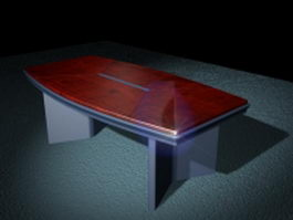 Modern conference table 3d model