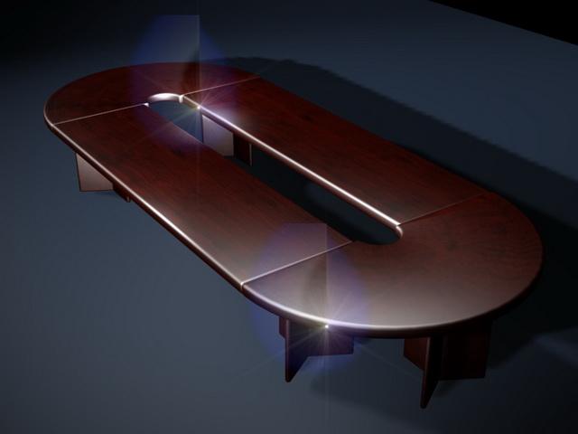 Executive Conference Table 3d Model 3d Studio 3ds Max