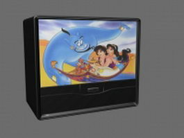 Rear Projection TV 3d model