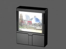 Projection TV 3d model