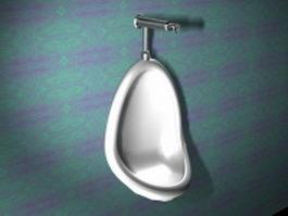 Men Urinal 3d model