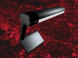 Retro desk reading lamp 3d model