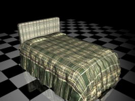 Plaid bedding sets 3d model