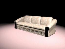 Davenport sofa 3d model