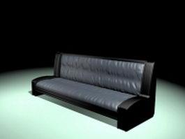 Antique vintage sofa 3d model