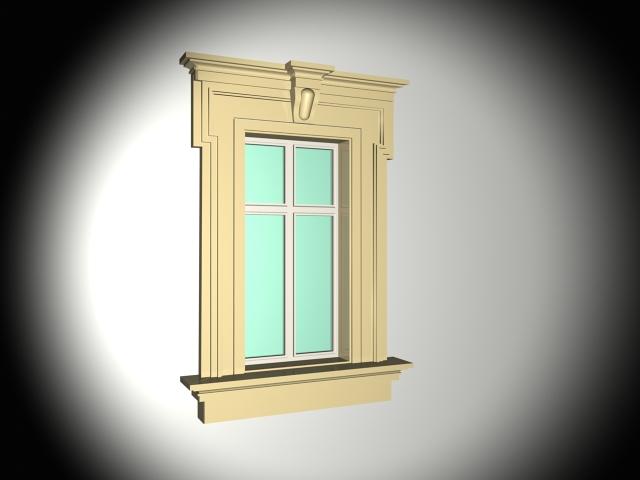 Exterior window trim 3d model 3ds max files free download - 3ds max models free download exterior ...