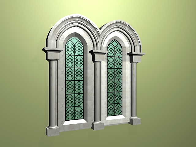 Exterior Window Trim Moldings 3d Model 3ds Max Files Free Download Modeling