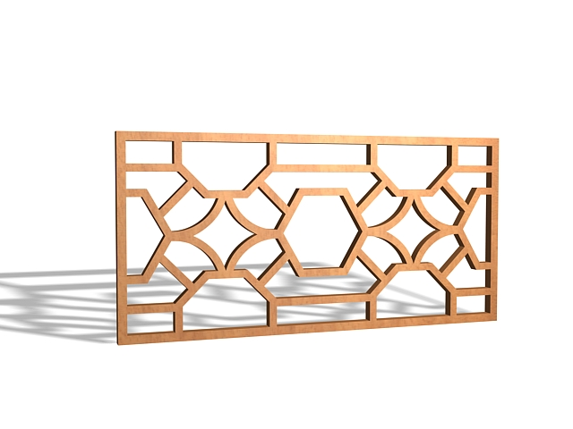 decorative wood lattice panels 3d model 3ds max files free