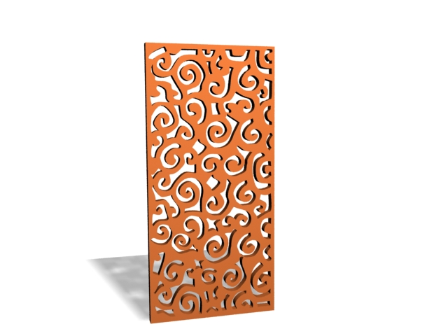 Decorative Wood Lattice Panels 3d Model 3ds Max Files Free