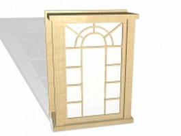 Little lattice windows 3d model