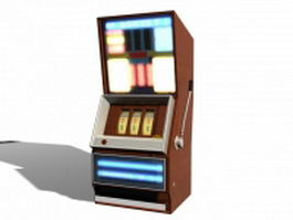 Casino slot machine 3d model