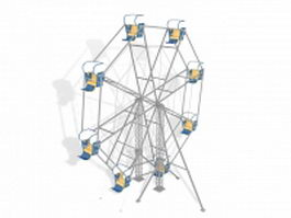 Giant ferris wheels 3d model
