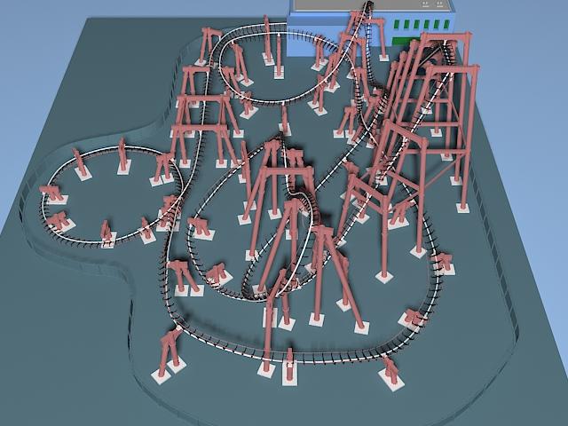 Amusement Park 3d model free download - cadnav com