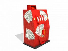 Arcade gambling machine 3d model
