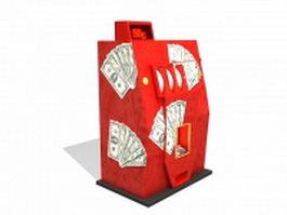 Arcade gambling machine 3d model