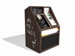 Old arcade machine 3d model