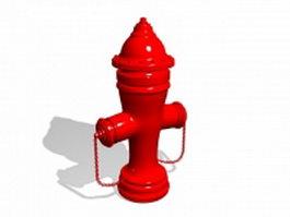 Mueller fire hydrant 3d model