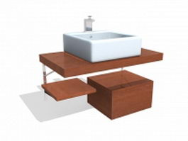 Bathroom vanity sets 3d model