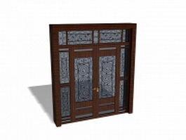 Exterior Front Door 3d model