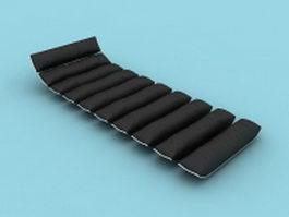 Floor day bed 3d model