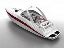 Open Yacht 3d model