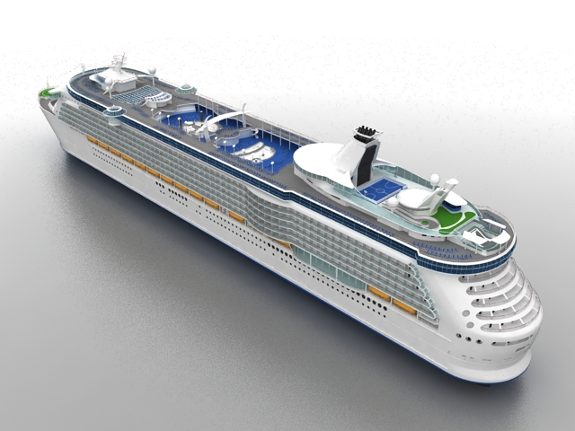 Luxury Cruise Ship 3d Model 3ds Max Files Free Download